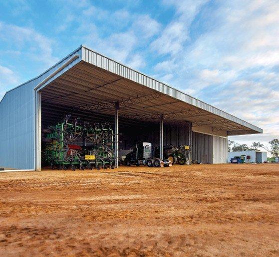 hay-sheds