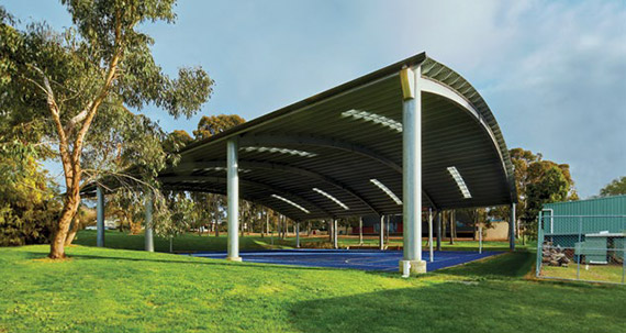 COVERED OUTDOOR LEARNING AREAS